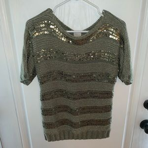 Chico's Sequin shirt Chico's size 0